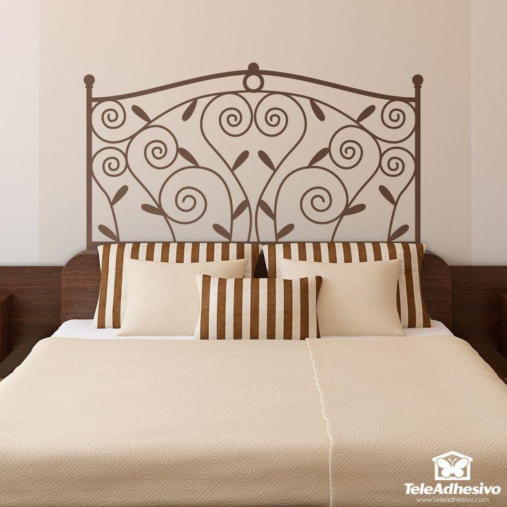 16 best vinilos cabecero cama images on pinterest vinyls for Vinilo cabecero cama