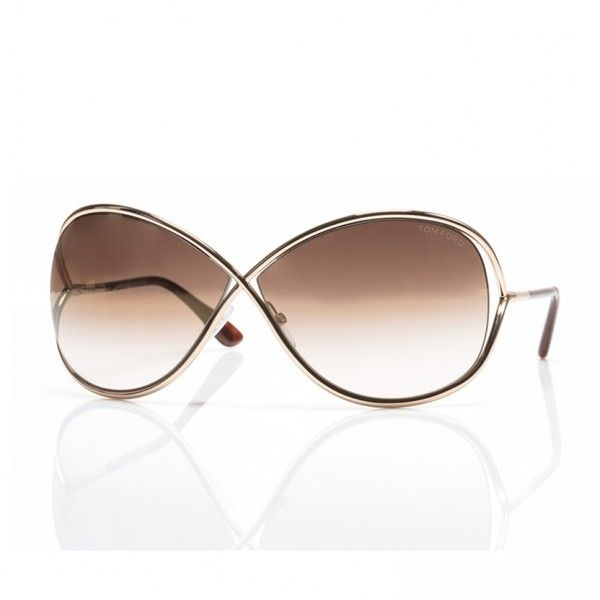 Tom Ford Miranda FT0130 Sunglasses in Rose Gold ($405) ❤ liked on Polyvore featuring accessories, eyewear, sunglasses, tom ford, rose gold sunglasses, tom ford eyewear, tom ford glasses and tom ford sunglasses