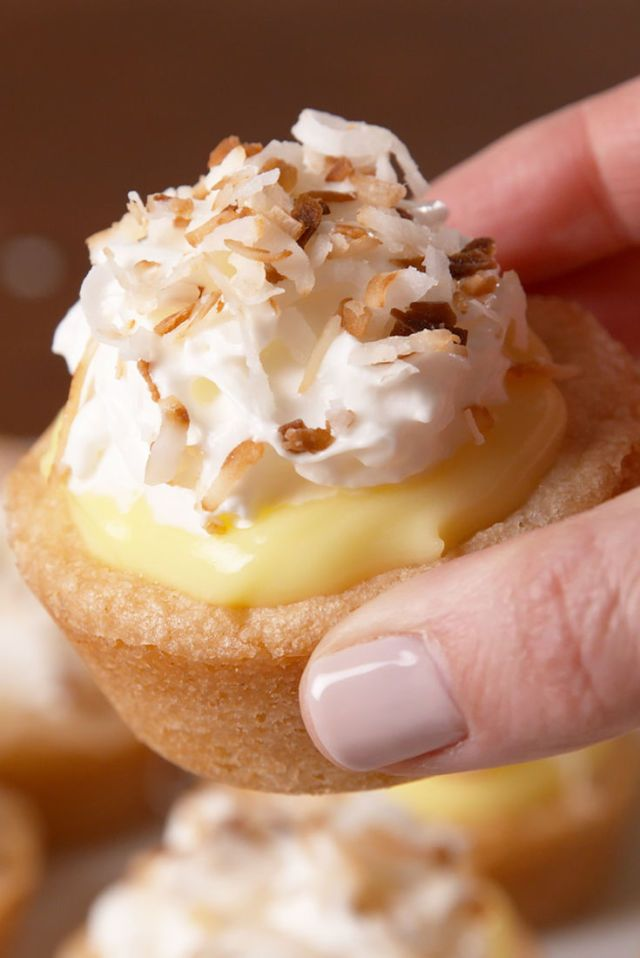 We're coco-nuts for these mini pies!