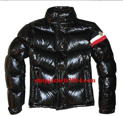 Moncler Outlet UK Mens Chamonix Down Jacket Black