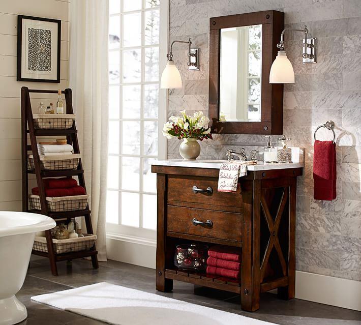 Bathroom Pottery Barn Single Bathroom Colton Marine Single Sconce Pottery Barn 12 Best