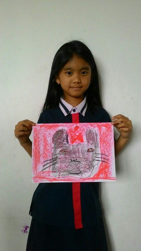Chloe - Paul Klee - Cat and Bird @Palmtrees Montessori School