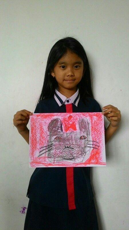 Chloe - Paul Klee - Cat and Bird @Palmtrees Montessori School