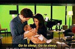 Beyond-Twilight: Rob and Kristen enjoyed playing with the babies used in BD1&2