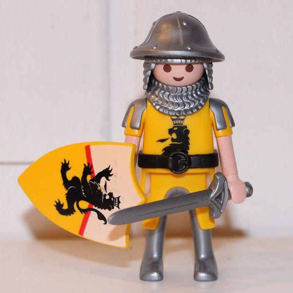 Playmobil chevalier lion noir classique playmobil - Cuisiner l omble chevalier ...