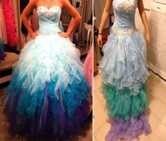 This one just looks sad. | These Terrible Knockoffs Are Why You Shouldn't Buy A Wedding Dress Online
