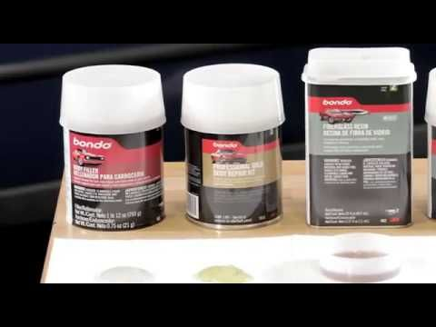 Before starting an auto body repair project, make sure you're using the right kind of filler. This video explains the different types of Bondo Filler available at Advance Auto Parts.