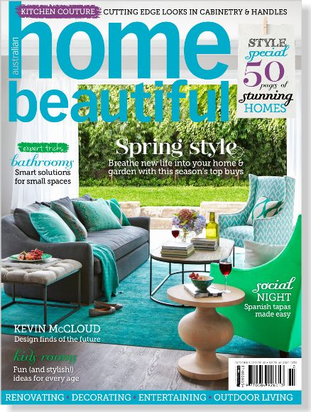 Home Beautiful October 2013. Clipped from Home Beautiful using Netpage.