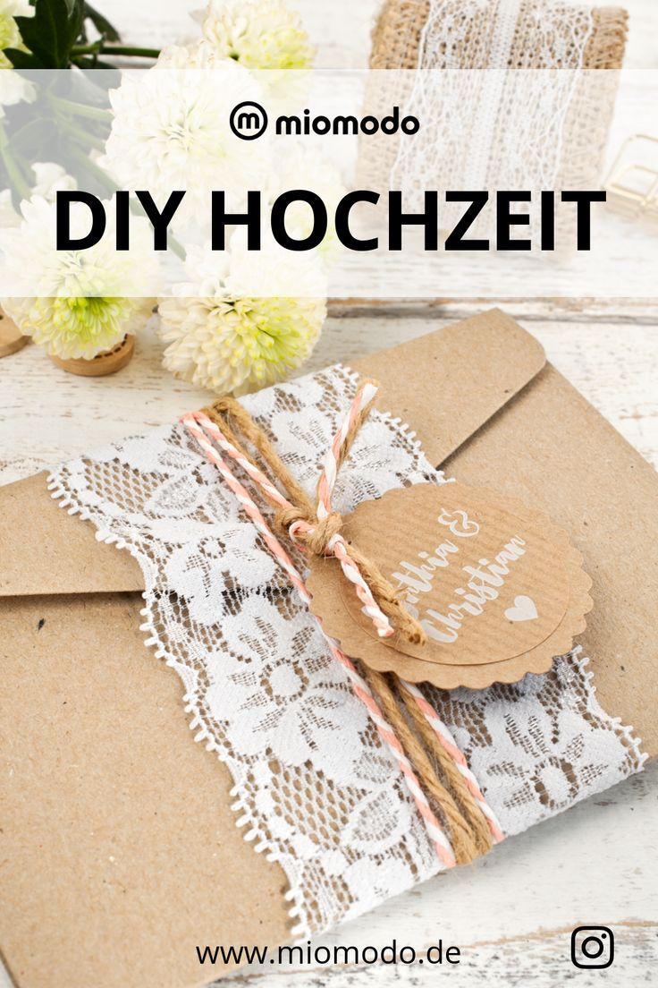 Hochzeit – miomodo | Geschenke verpacken & DIY Hochzeitspapeterie | Shop & DIY Blog