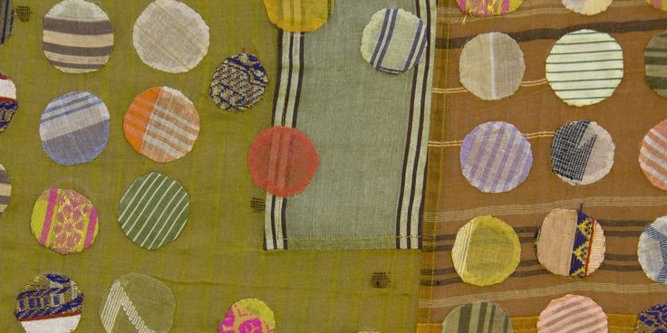 Gee's tikdi textile (detail), 2009. Designed by Christina Kim (American b. South Korea 1957), produced by dosa inc. (Los Angeles, California).