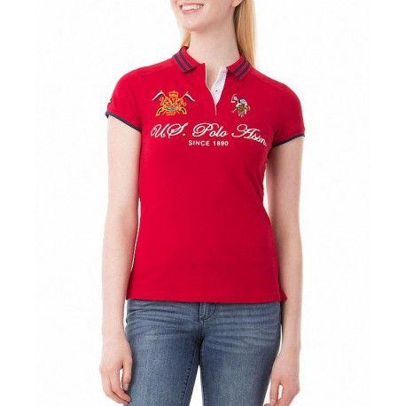 Polo US Polo Assn Association rojo