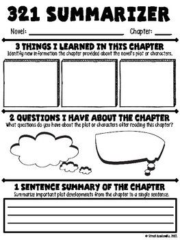 FREE - This is a great tool for students to use when reading a novel independently, in book clubs, or as a whole class.