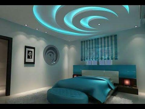New False Ceiling Designs Ideas For Bedroom 2018 With Led Lights New Modern False Cei Bedroom False Ceiling Design Ceiling Design Bedroom False Ceiling Design