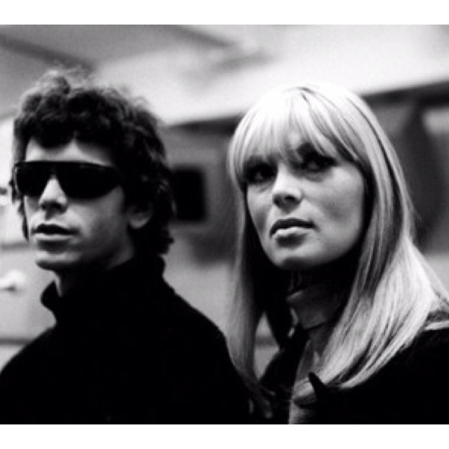Lou Reed & Nico.
