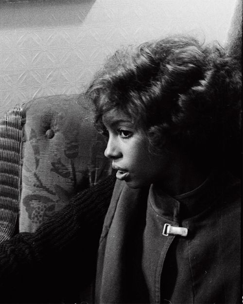 """samweed: """"Mary Wilson of the Supremes in London (c. 1975) """""""