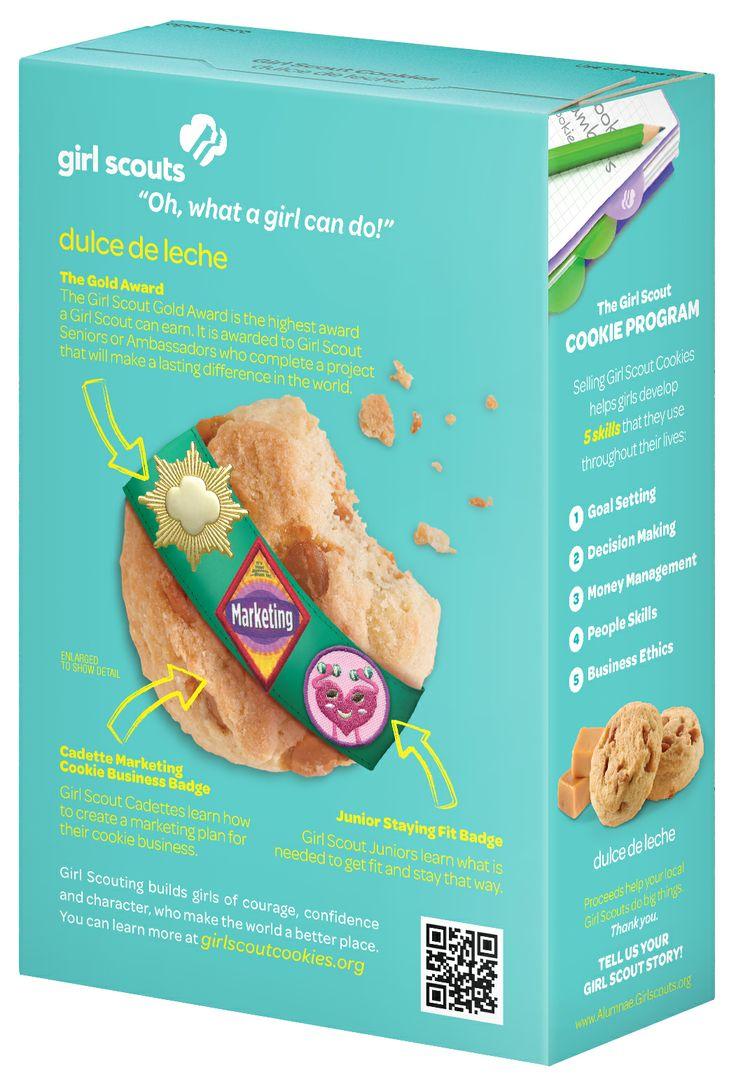 dulce de leche new box girl scouts norcal s next cookie
