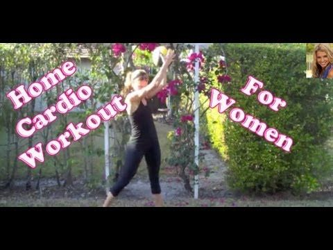Home Cardio FAT BURN #Workout For Women.  NO equipment needed and burns tons of calories.