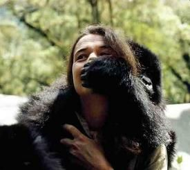 Diane Fossey. What an amazing, courageous woman!