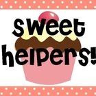 Pastel Cupcake Classroom Jobs...so cute!