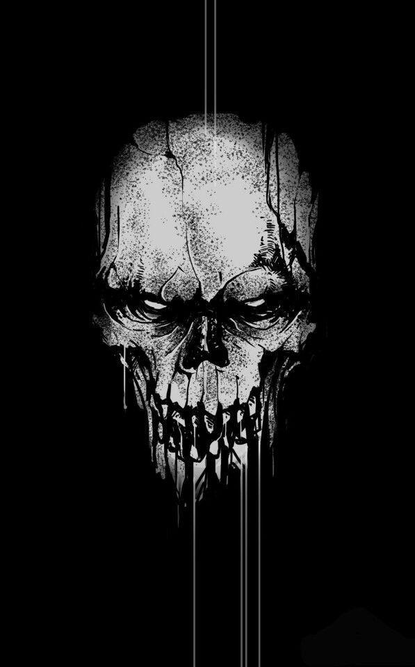 dcad565719fcd Skull Stencil, Skull Art, Crane, Skull And Crossbones, Badass Skulls ...