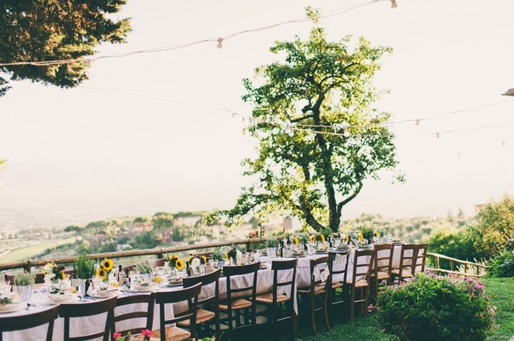 Tuscan Rustic Villa Wedding  Read more - http://www.stylemepretty.com/little-black-book-blog/2014/03/20/tuscan-rustic-villa-wedding/