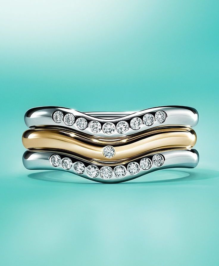 nice Потрясающие обручальные кольца Тиффани (50 фото) — Каталог коллекций и цены