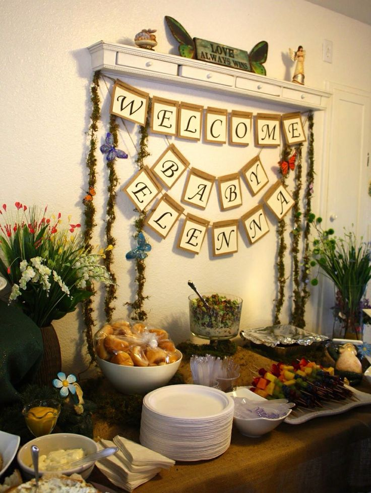 Attractive Enchanted Forest Baby Shower More