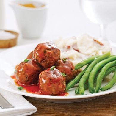Boulettes de viande sauce barbecue - Recettes - Cuisine et nutrition - Pratico Pratique