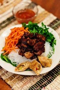 Vietnamese Bun Thit Nuong