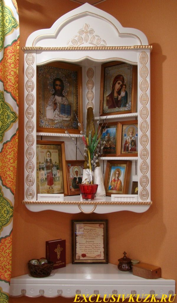 Иконостас дома картинках