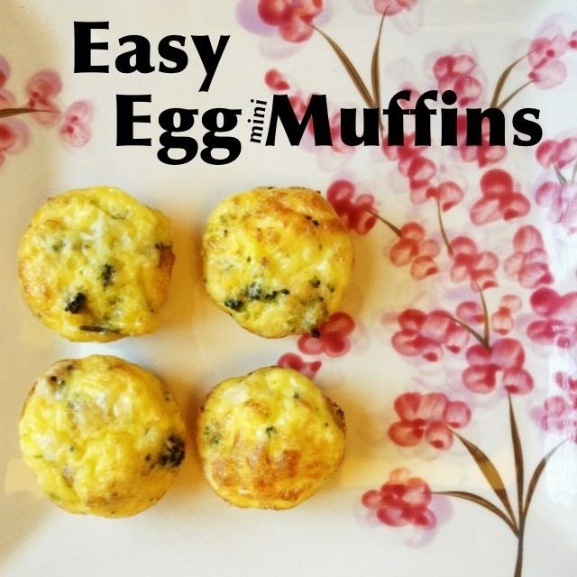 Easy Egg Mini Muffins - oh my goodness. Heavenly yumness! And talk about a kid pleaser!