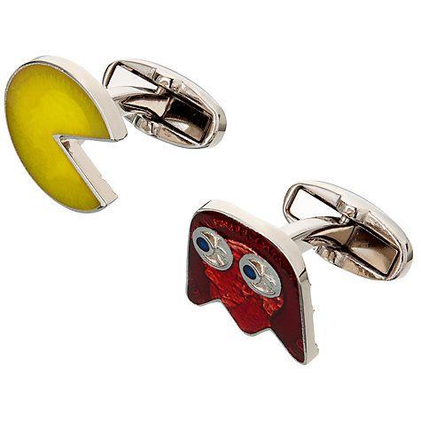 Buy Paul Smith Pacman Cufflinks, Multi Online at johnlewis.com