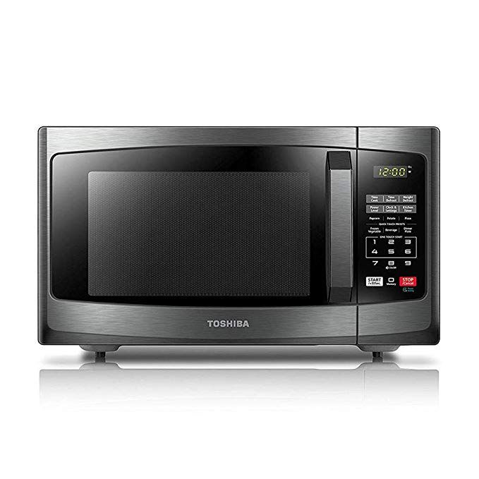 Toshiba Em925a5a Bs Microwave Oven With Sound On Off Eco Mode And
