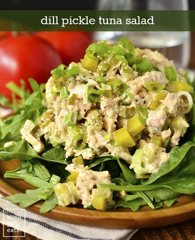 Tuna Salad Recipe Dill