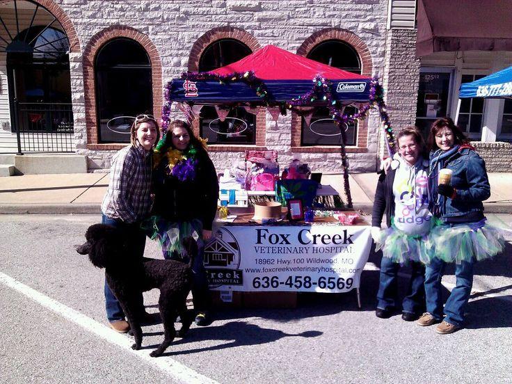 Fox Creek Veterinary Hospital at Mardi Growl!