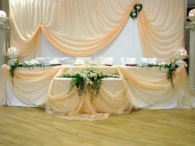 Head table backdrop, too asymmetrical