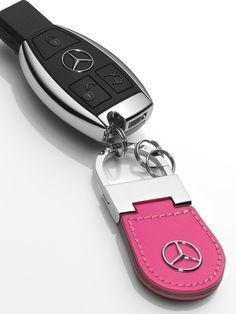mercedes key fob with pink keyring - Google Search