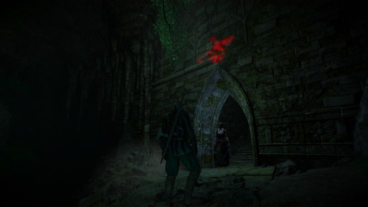 Wandering In The Dark quest - bird symbol? #TheWitcher3 #PS4 #WILDHUNT #PS4share #games #gaming #TheWitcher #TheWitcher3WildHunt