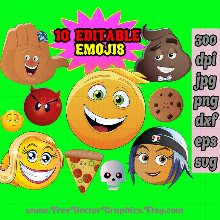 The emoji movie vector png svg eps