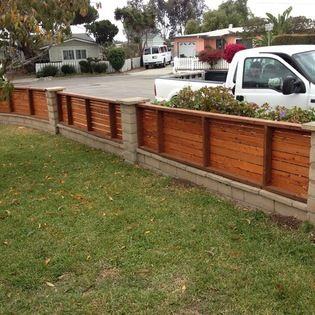 Horizontal Fence Panels / Shorty Fence / Protect Garden From Neighbor  Overspray U0026 Rabbits