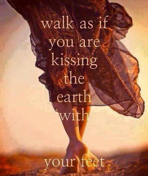Walk as if