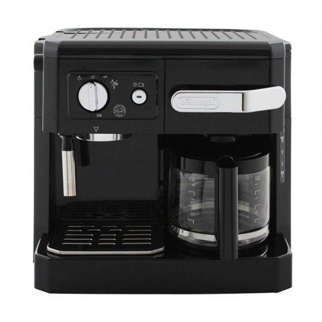 Combiné cafetière filtre/expresso BCO 410.1 Delonghi