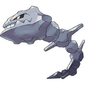 Pokedex Entry #208: Steelix is a Steel/Ground Type Pokemon. It has no Evolution. Steelix lives even further underground than Onix. This Pokémon is known to dig toward the earth's core. There are records of this Pokémon reaching a depth of over six-tenths of a mile underground.