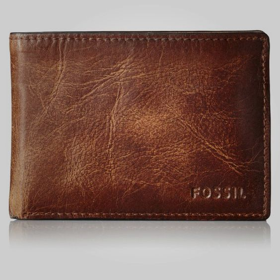 Fossil Men's Derrick Front Pocket Bifold Wallet