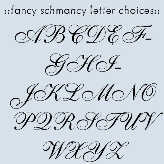 Alphabet Letters Fonts Fancy Script Dominic Vasquez