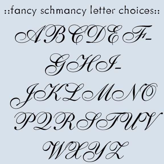 Alphabet Letters Fonts Fancy Script Dominic Vasquez