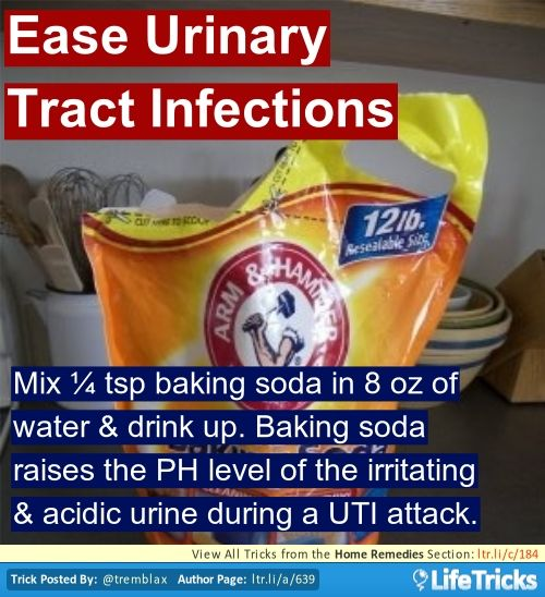 Natural Remedy Urinary Tract Infection Baking Soda