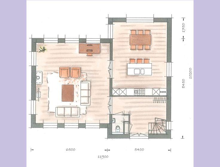Villa grundriss sims 3  155 besten woningplattegronden Bilder auf Pinterest | Grundrisse ...