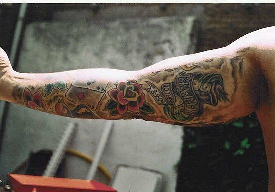 Old school tattoo sleeve