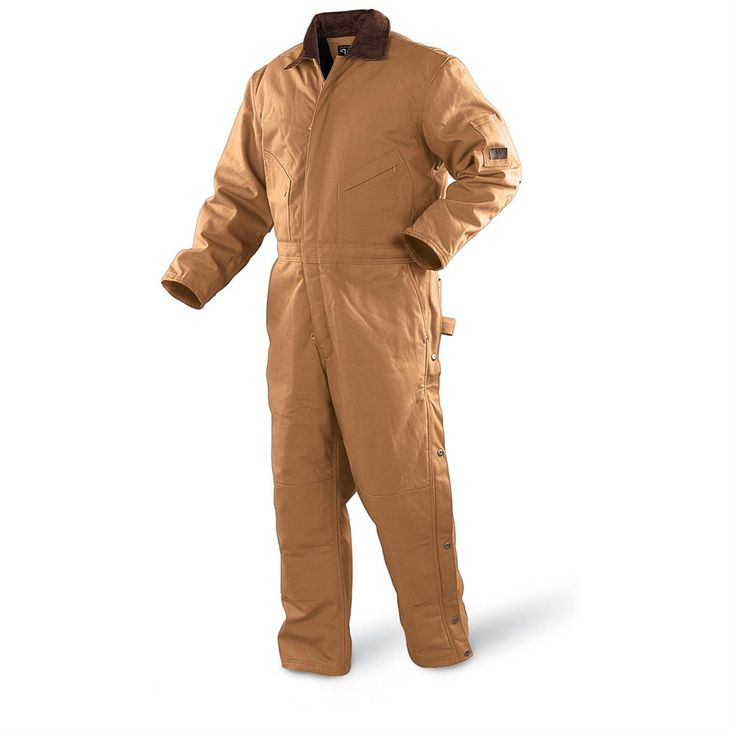 Walls Blizzard Pruf Insulated Coveralls | Walls Blizzard-Pruf Coveralls, Brown Duck
